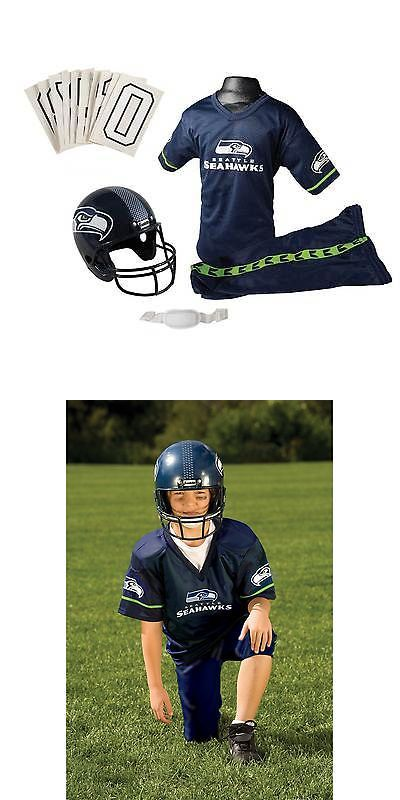 b6f87a5992619 Other Costumes 19255: Franklin Sports Nfl Seattle Seahawks Complete Youth  Football Uniform Set -> BUY IT NOW ONLY: $46.94 on eBay!