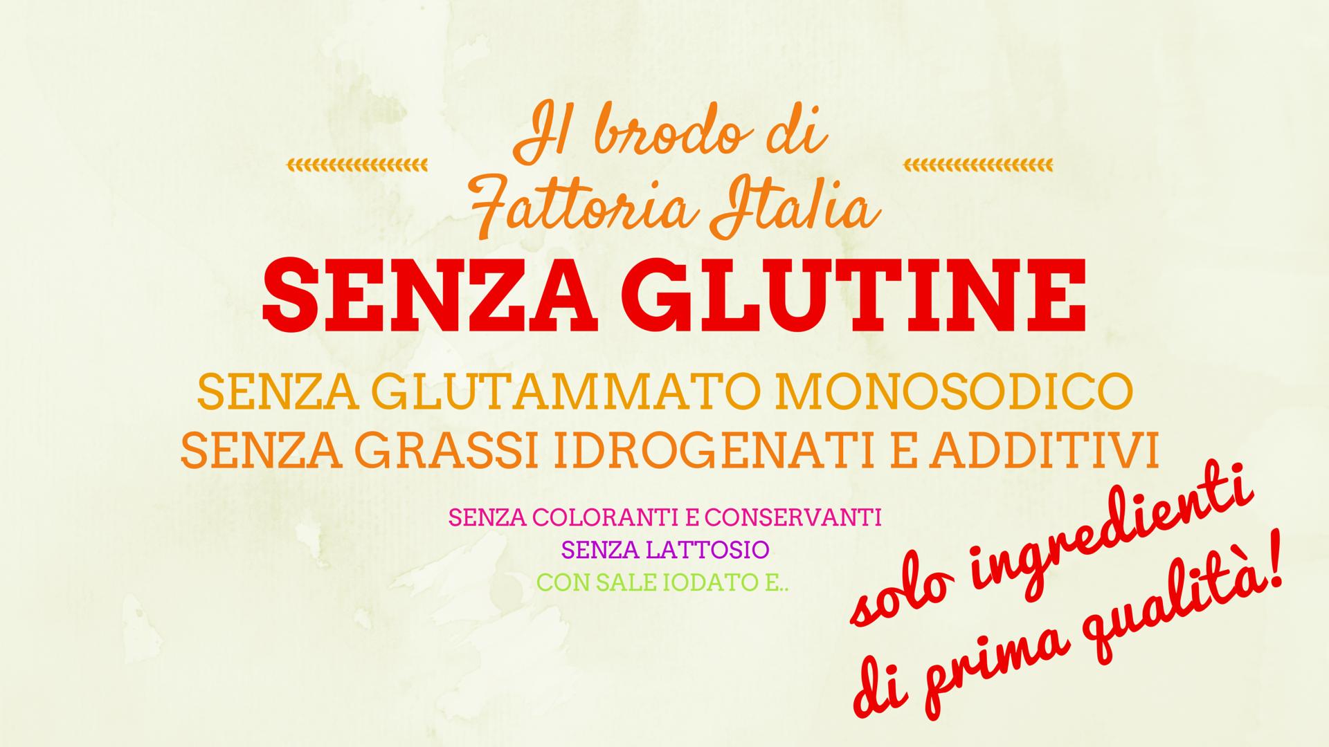Il brodo di Fattoria Italia: solo ingredienti di prima qualità!