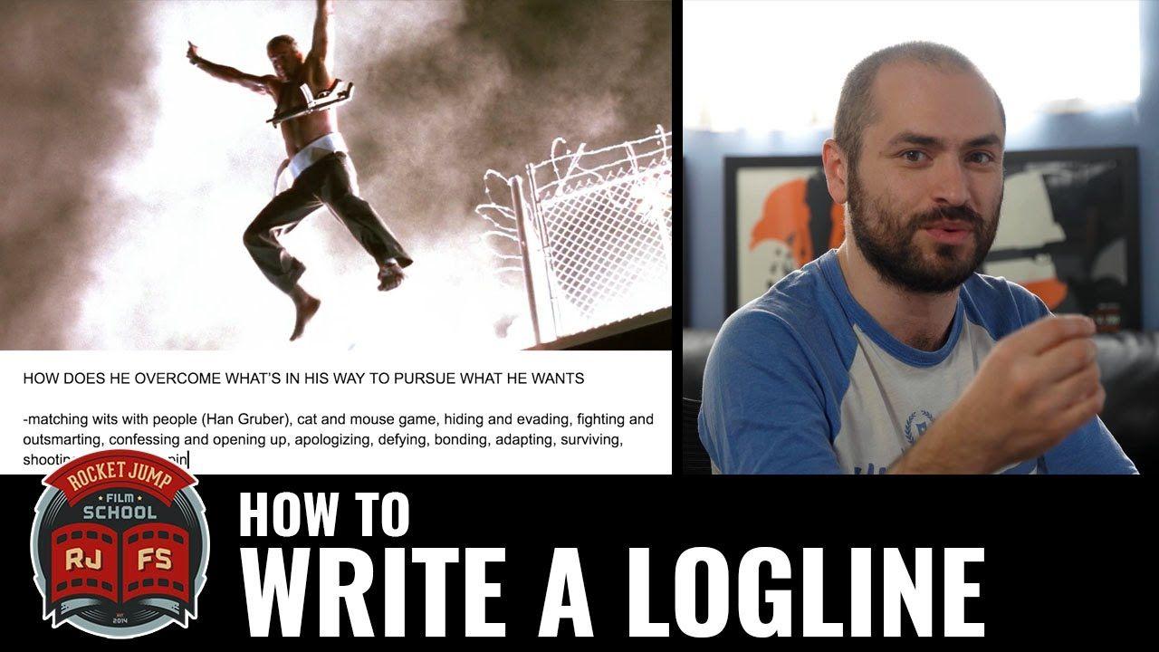 How to Write a Logline Script writing, Screenwriting