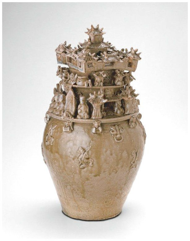 China Funerary Urn Hunping Western Jin Dynasty Ad 265 316 Late 3rd Century Interiordesign Ceramics Cl Ceramics Chinese Pottery Art Institute Of Chicago