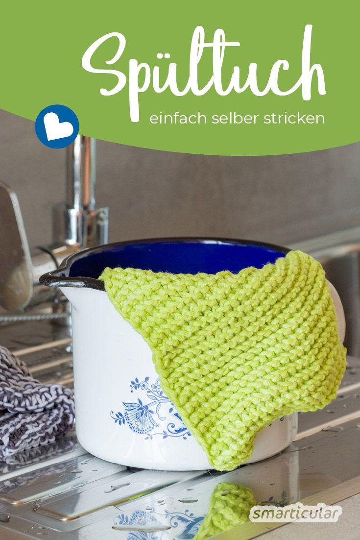 Photo of Spültücher einfach selbst stricken – wiederverwendbar und plastikfrei