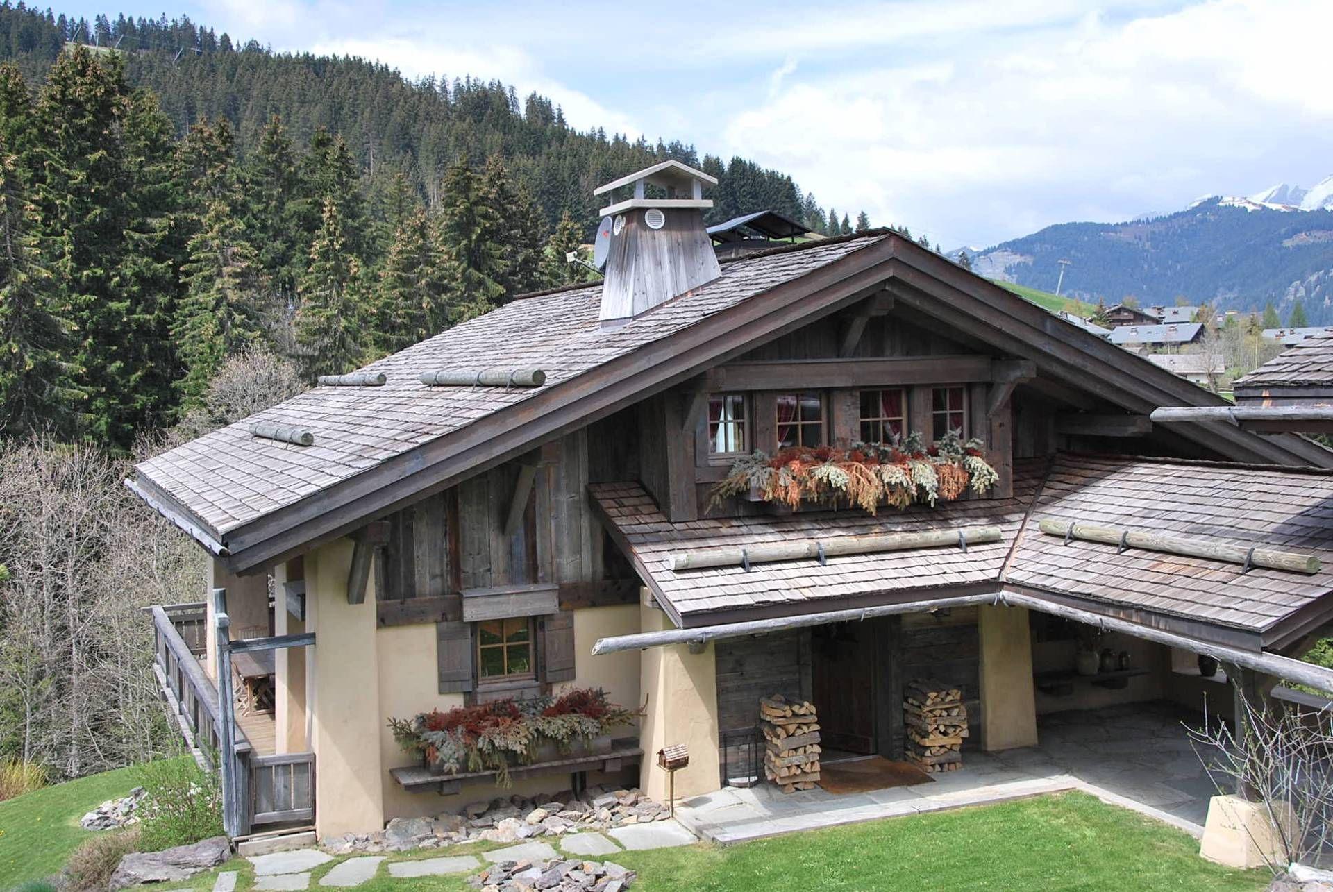 Boutiqchalets Megeve Mandarine Chalet Style House Styles