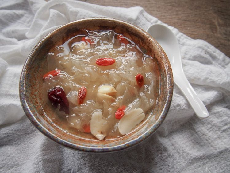 Chinatown snow fungus soup for a sweet lunar new year
