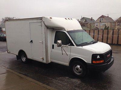 Gmc Savana 03 Gmc Savana 3500 Box Van Truck Ex Fedex Retired Pa Fleet 10ft Box Side Barn Http Usabarnfinds Com G Box Van Recreational Vehicles