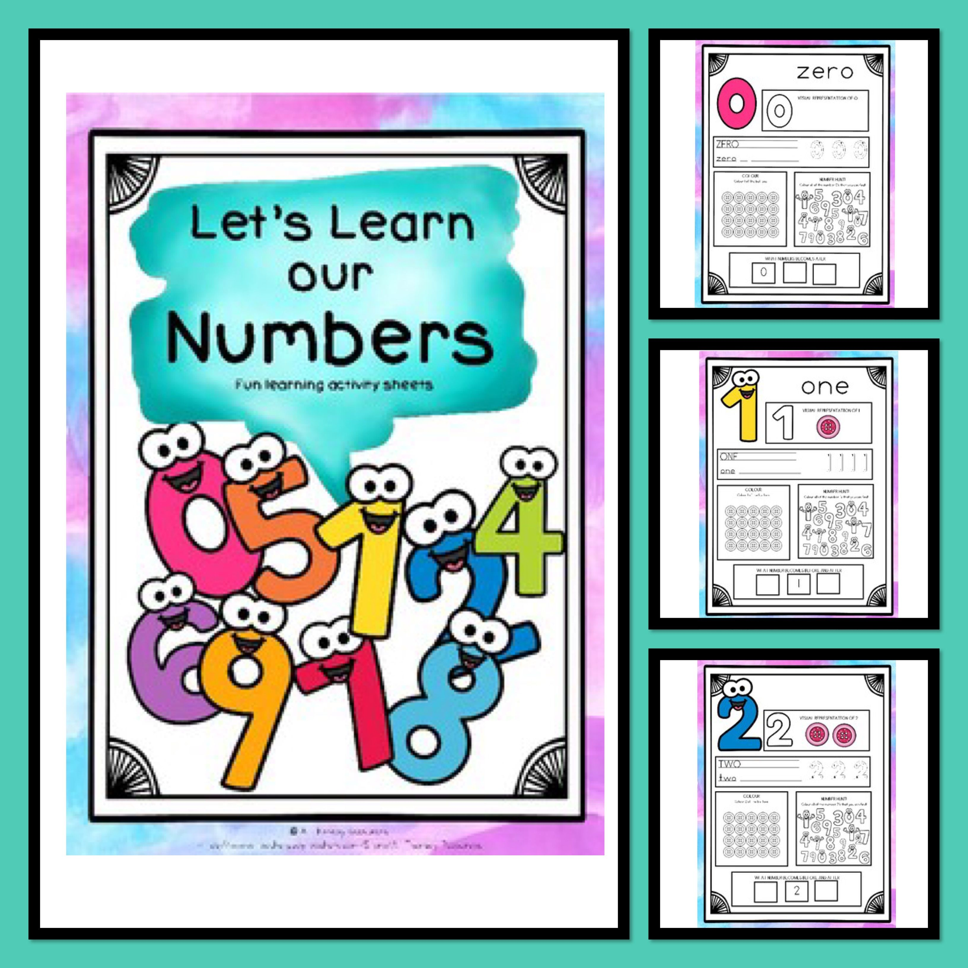 Learning Numbers 0 20