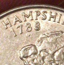 2000 P New Hampshire State Quarter *ERROR COIN* | Coins