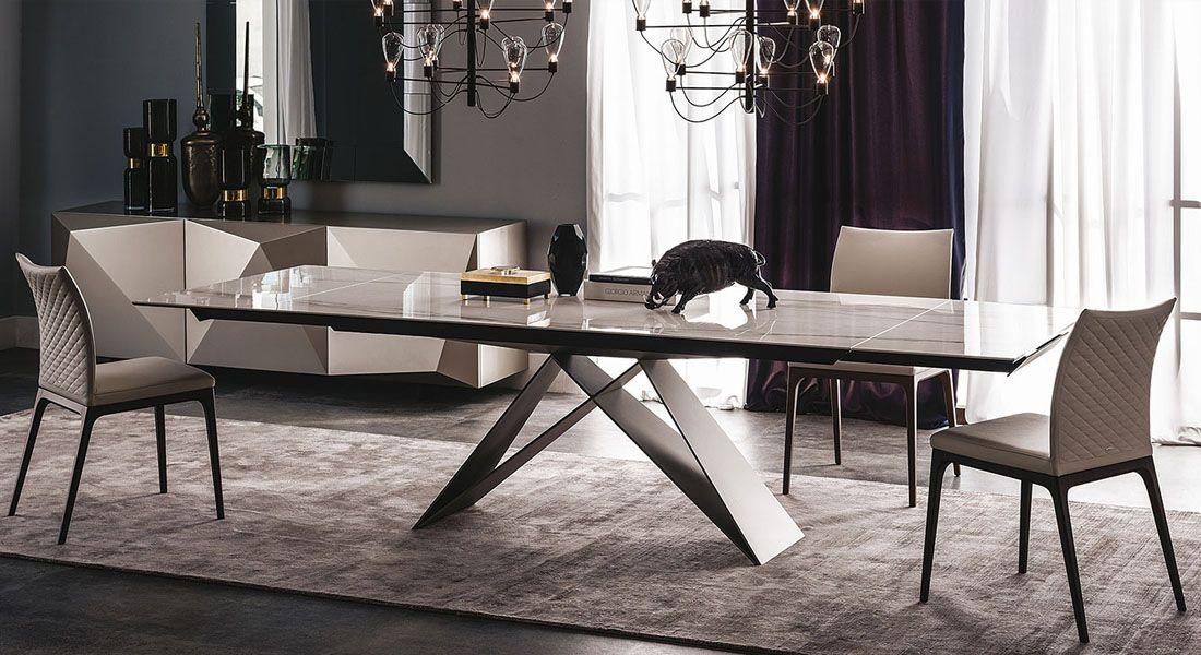 Table Ceramique Cattelan Italia Premier Table Salle A Manger Mobilier Design Mobilier De Salon