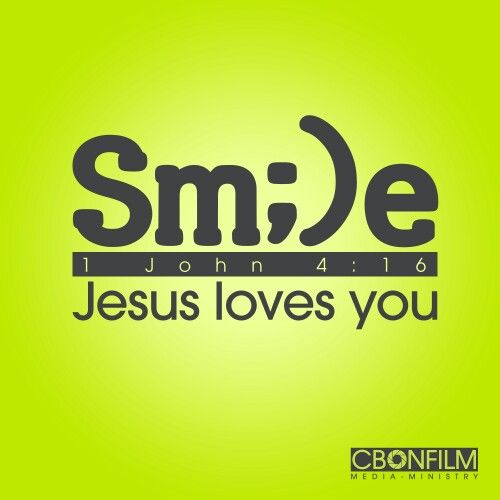 SMILE, Jesus loves you (With images) | Bible guide, Jesus loves ...