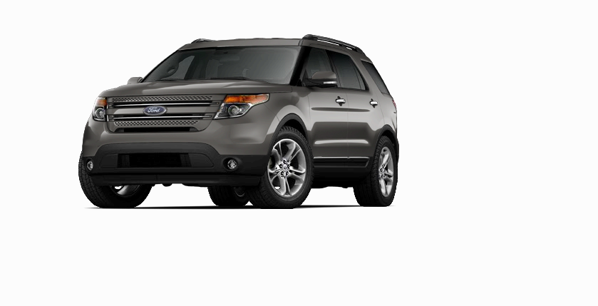 New 2014 Ford Explorer Limited (Gray SUV) Stonewall