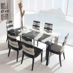 Mesas de Salon-Comedor de Bambu : Coleccion CROSS | MESAS COMEDOR ...