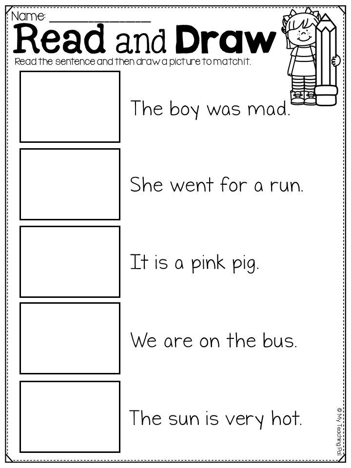 Read And Match Worksheet Pack Distance Learning Reading Comprehension Skills Reading Comprehension Reading Writing Learning to read worksheets kindergarten