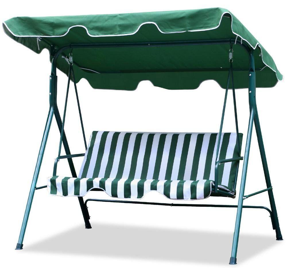 World pride gardenbackyard seater cushioned patio swingwith uv