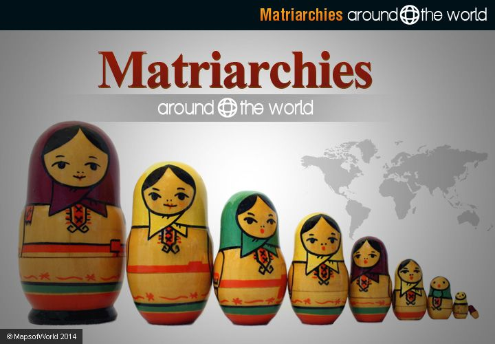 examples of matriarchal societies