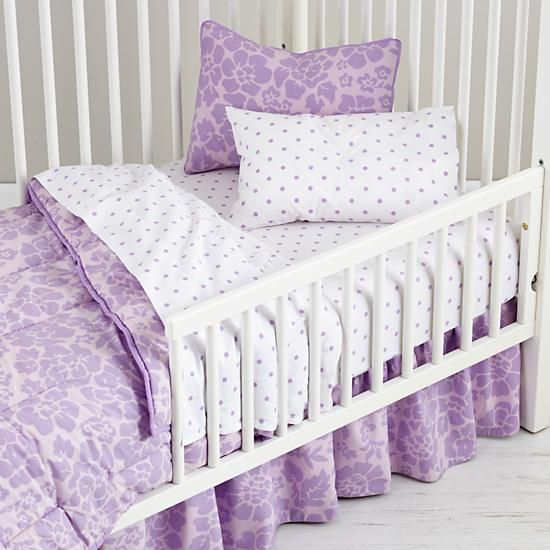 Dream Girl Toddler Bedding Lavender In Toddler Bedding The