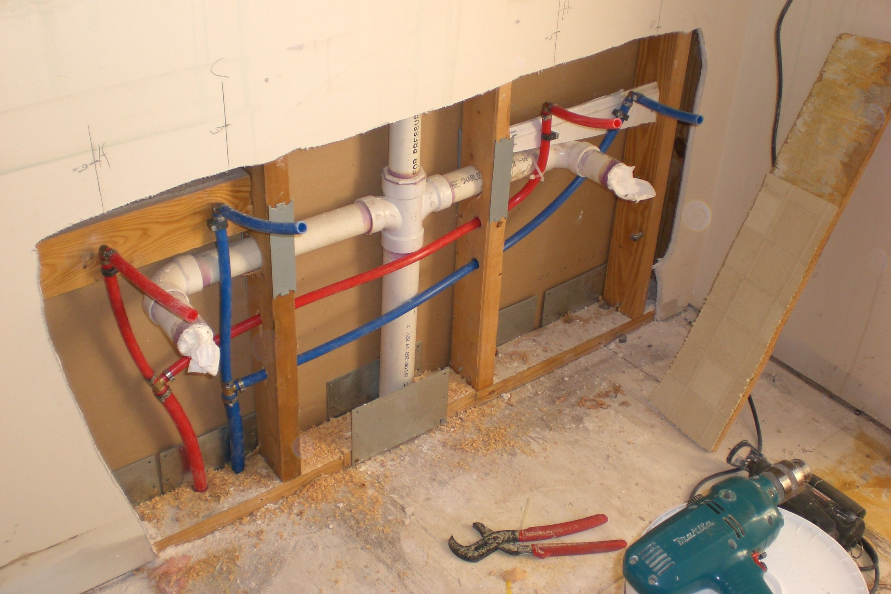 medium resolution of how to install pex pipe to bathroom sink google search
