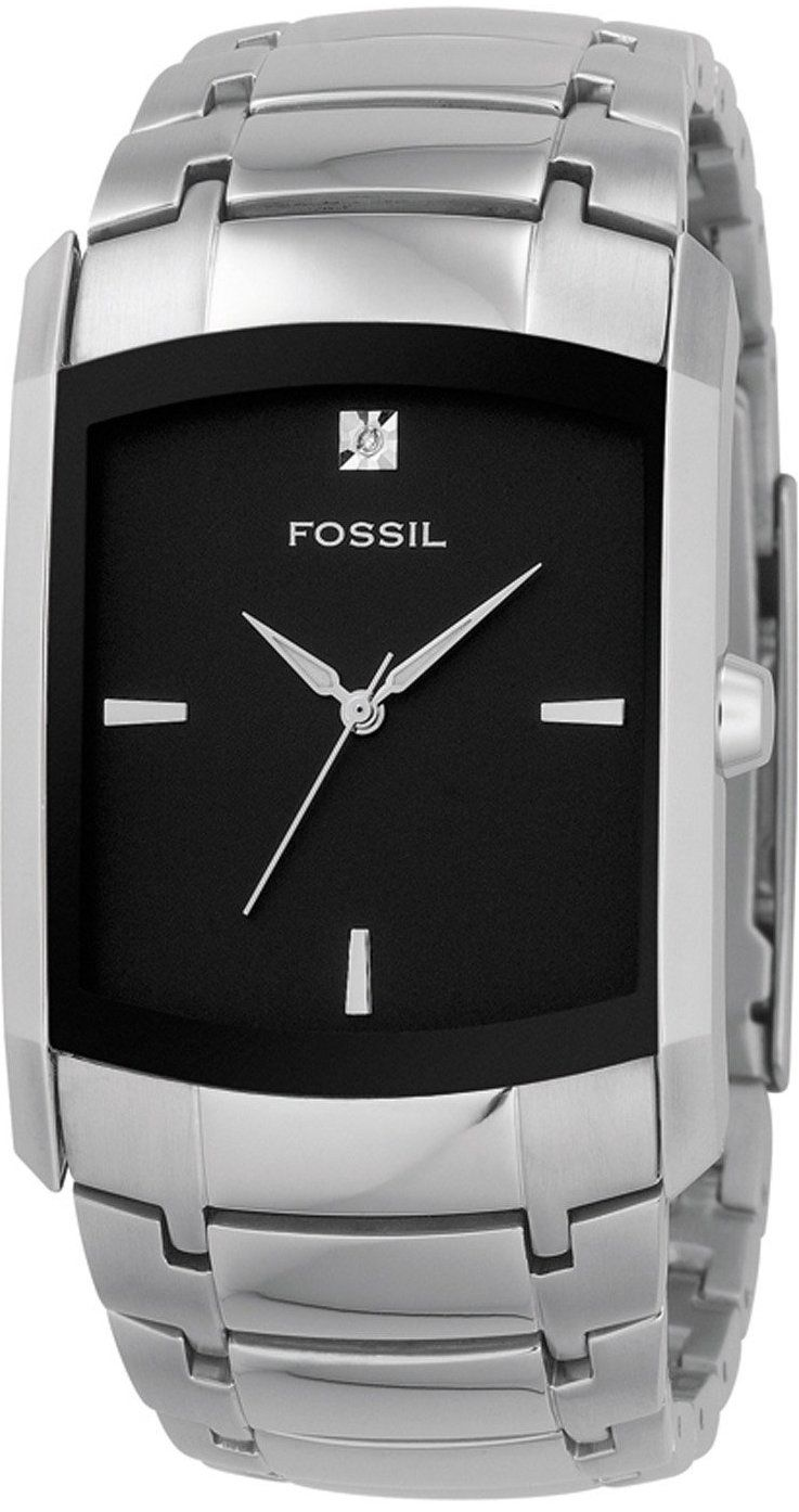 Fossil Fossil Men s Three-Hand Stainless Steel Dlack Dial Dress Watch  FS4156    73.00   Fossil Watch Men 21c58c86ad1c