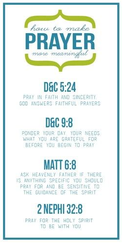 How to make prayer more meaningful