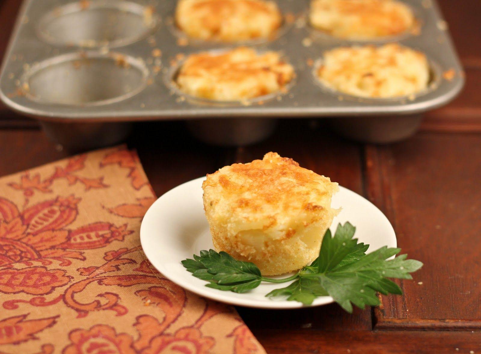 Cheesy Potato Cups