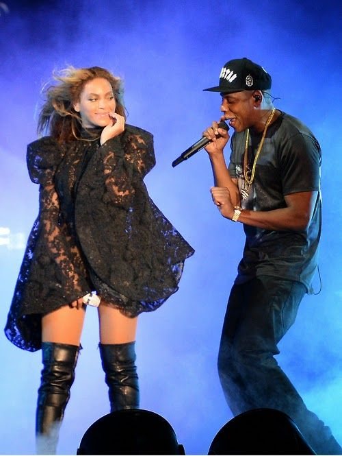 Beyonce and Jay Z On the Run Tour in Miami