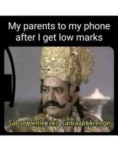 When Indian Parents See The Low Marks Of Their Child