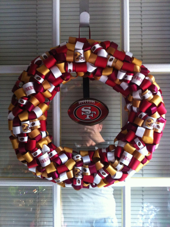 Super Bowl Party 49ers Decor