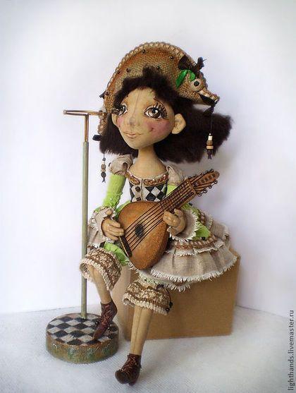 Коллекционные куклы ручной работы. Ярмарка Мастеров - ручная работа. Купить Коломбина. Коллекционная кукла.. Handmade. Коломбина, коллекционная кукла