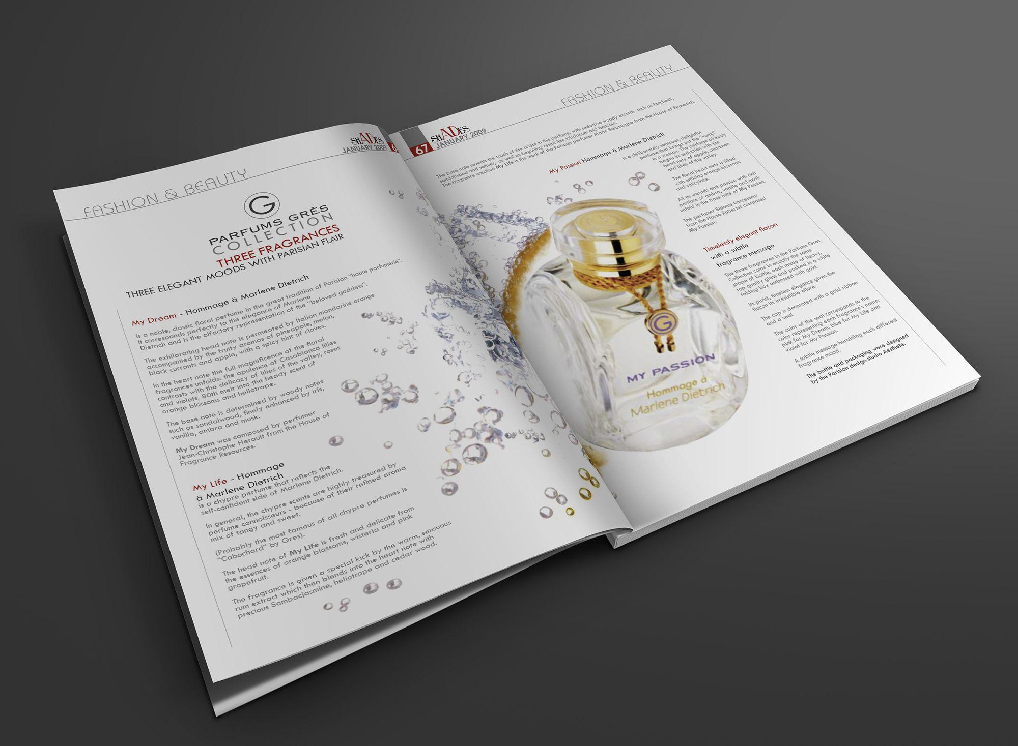 Client Shades Magazine, Media Type Magazine