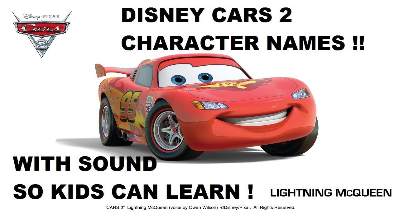 Disney Pixar Cars 2 Characters Names Who S Who Of The Film With