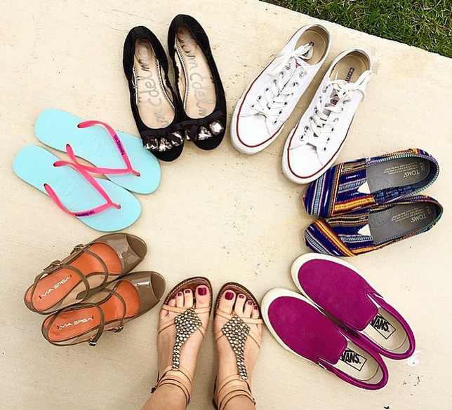 Our summer shoe collection thanks to Nordstrom Rack