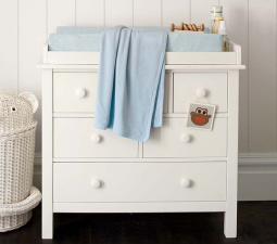 Kendall Dresser Changing Table Topper From Potter Barn Kids