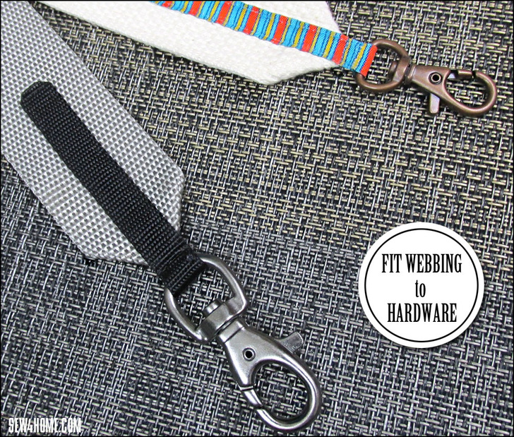 Photo of How to Narrow Wide Webbing to Fit Small Hardware – Sew4Home