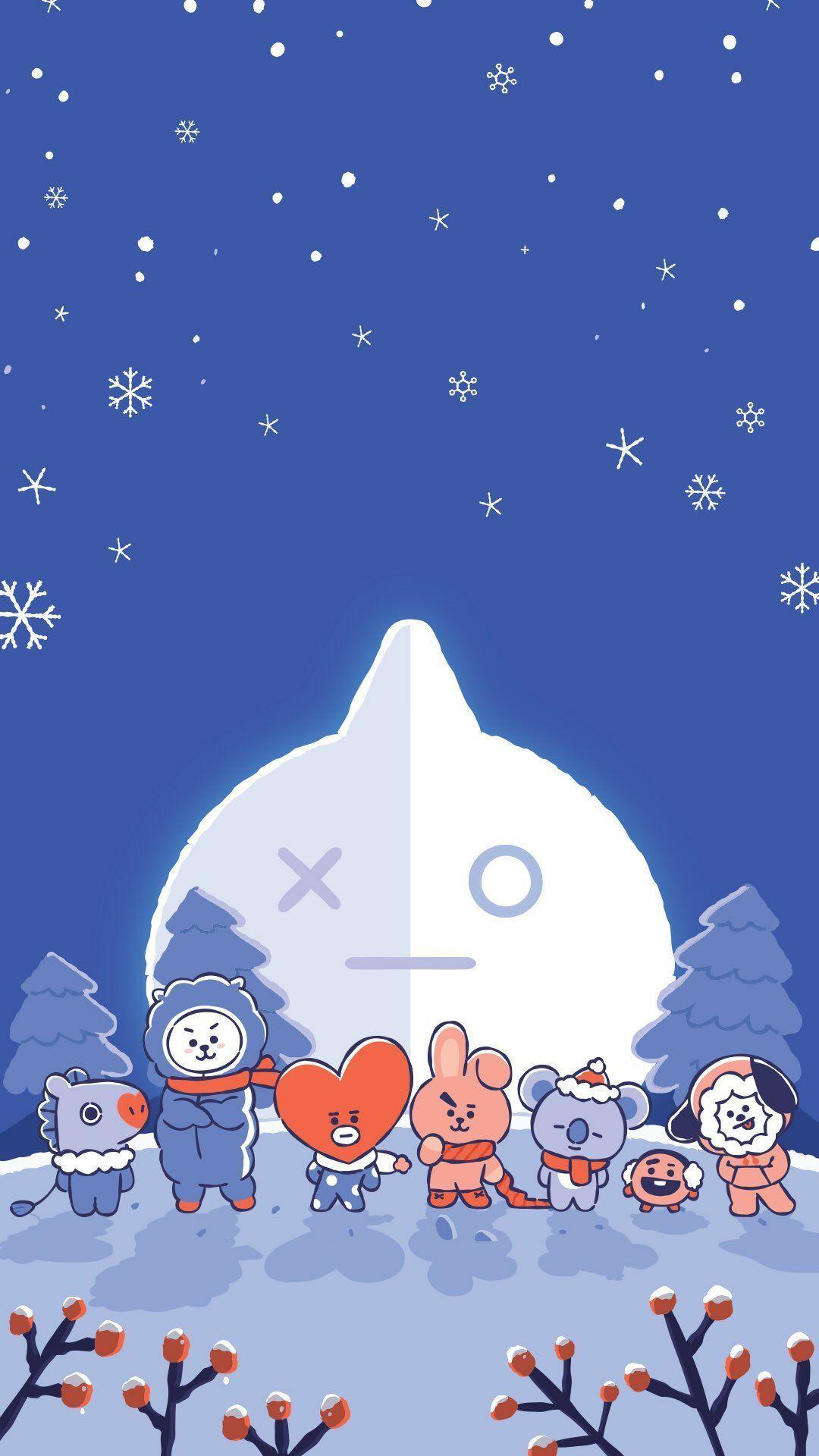 Van Koya Rj Shookie Mang Chimy Tata Cookie Fiksipenggemar Fiksi Penggemar Amreading Books Wattp Bts Christmas Wallpaper Iphone Christmas Bts Wallpaper Anime christmas iphone wallpaper