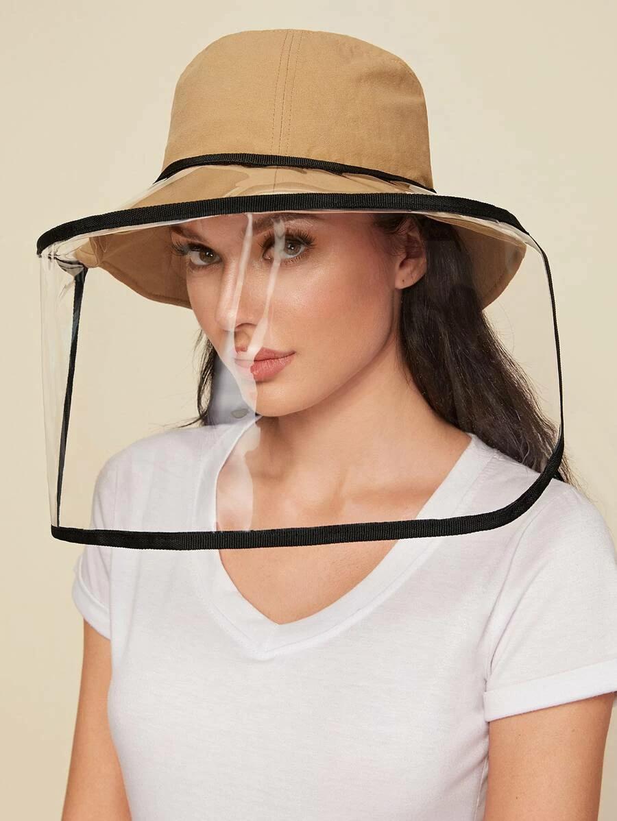 Clear Detachable Face Shield Mask SHEIN USA in 2020