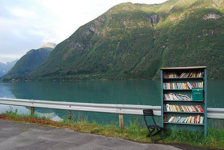 who doesn't love a random bookshelf?
