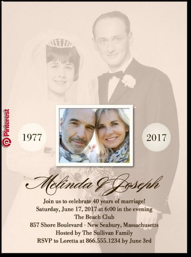 Today And Yesterday Anniversary Invitations In Cashmere Pink Or Al 50th Anniversary Invitations Anniversary Party Invitations Wedding Anniversary Invitations