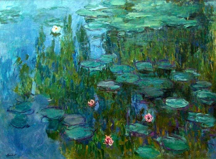 Water Lillies | Claude Monet,1915. | Water Lilies is a series of ...