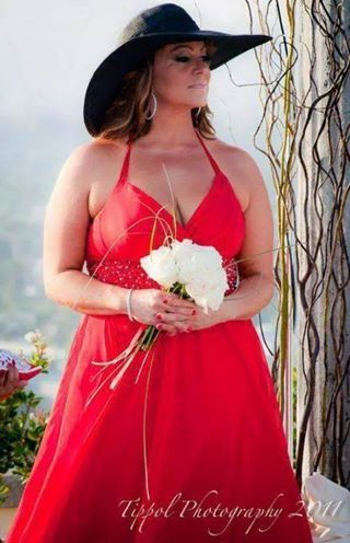 Jenni At Rosies Wedding