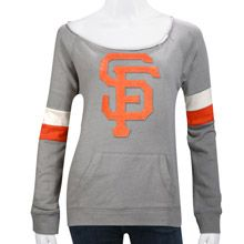San Francisco Giants Women's Deal Pullover Top by Wright & Ditson