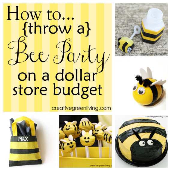 16 Great Bee Party Ideas Perfect For A Birthday Or Baby Shower