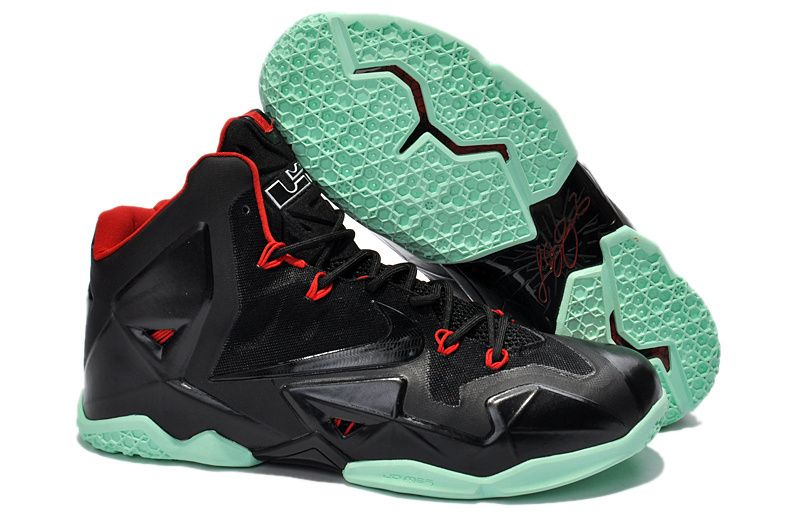 separation shoes c32a3 f83e6 Nike Lebron XI (11)   North Face Hot Sale and all kinds of Nike,Adidas and  New Balance Shoes on sale. Nike Lebron 11 Black Red ...