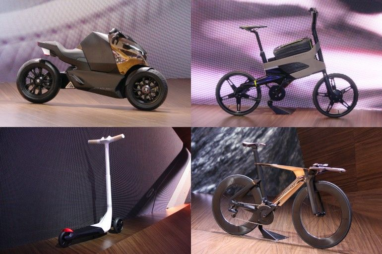 Some of Peugeot Design Lab's work in the transportation area has been truly groundbreaking...