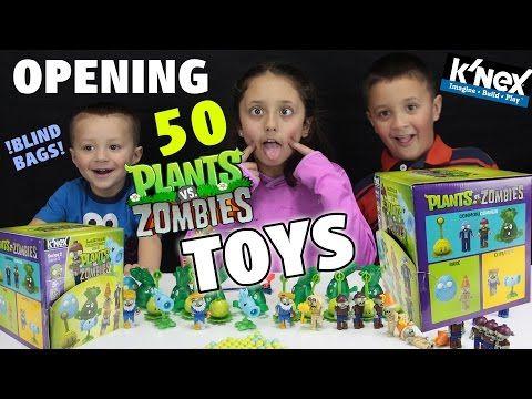 Plants Vs Zombies Series 2 K Nex Blind Bags Full Case Opening W Fgteev Kids 50 Pvz Toys Youtube In 2020 Blind Bags Kids Skylanders Trap Team