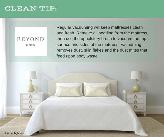 Beyond By Aerus Vacuuming Your Mattress Regularly Helps Reduce