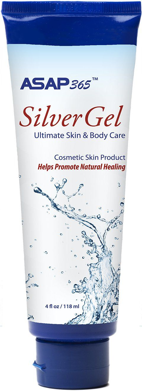 American Biotech Labs Silver Gel Silver Cream For Speedy Healing Anti Bacterial Healing Cream For Burns And Bites Rash Body Care Body Gel Skin Healing