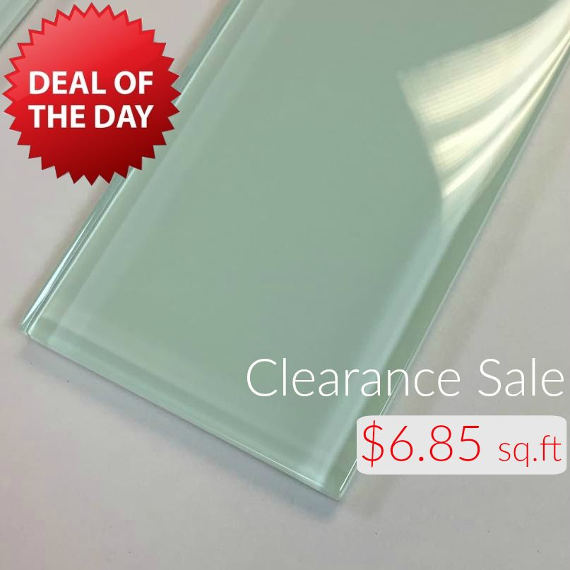 3x6 Glass Subway Series - Bottle Green $6.85 Square Foot | Subway ...