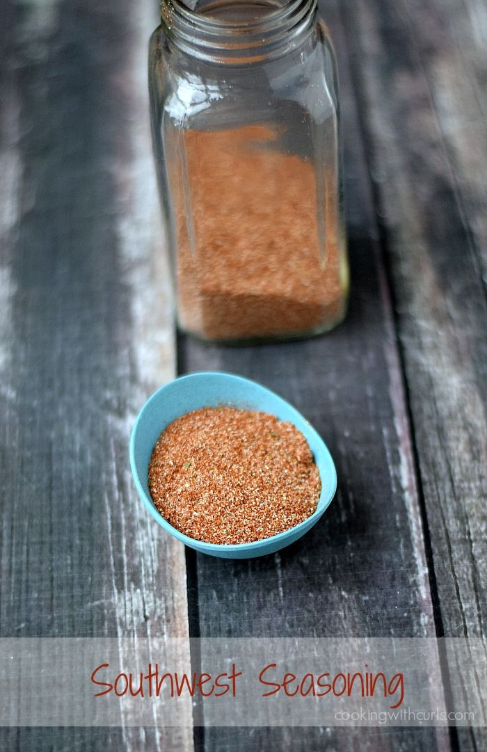 Southwest Seasoning | cookingwithcurls.com #recipe