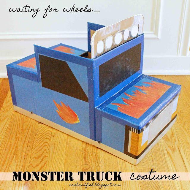 miniDIY: monster truck halloween costume!   C R A F T Y ...