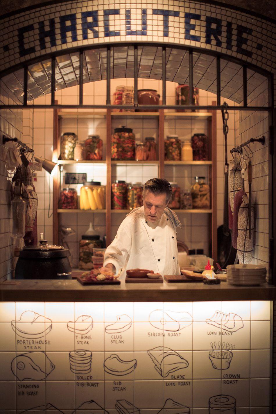 Kaper Design; Restaurant & Hospitality Design: Palmer & Co