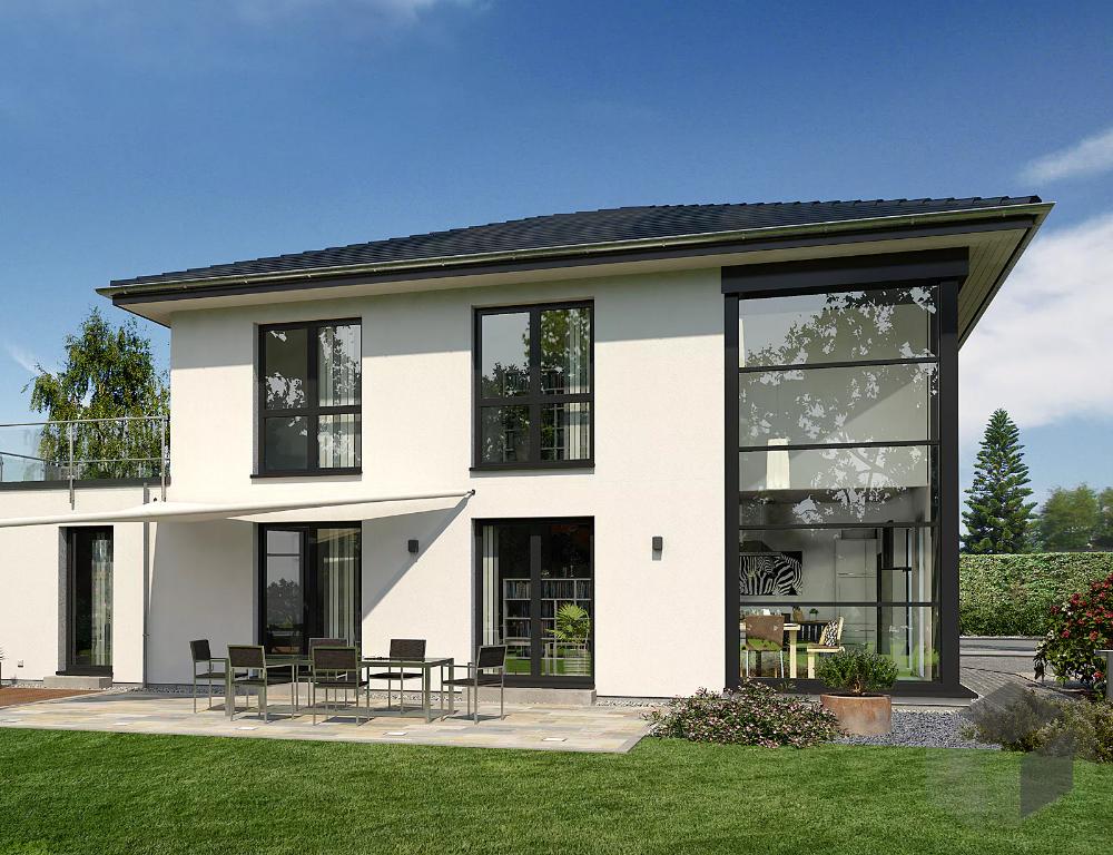 Großes Einfamilienhaus mit 10 Zimmern Musterhaus Lotte