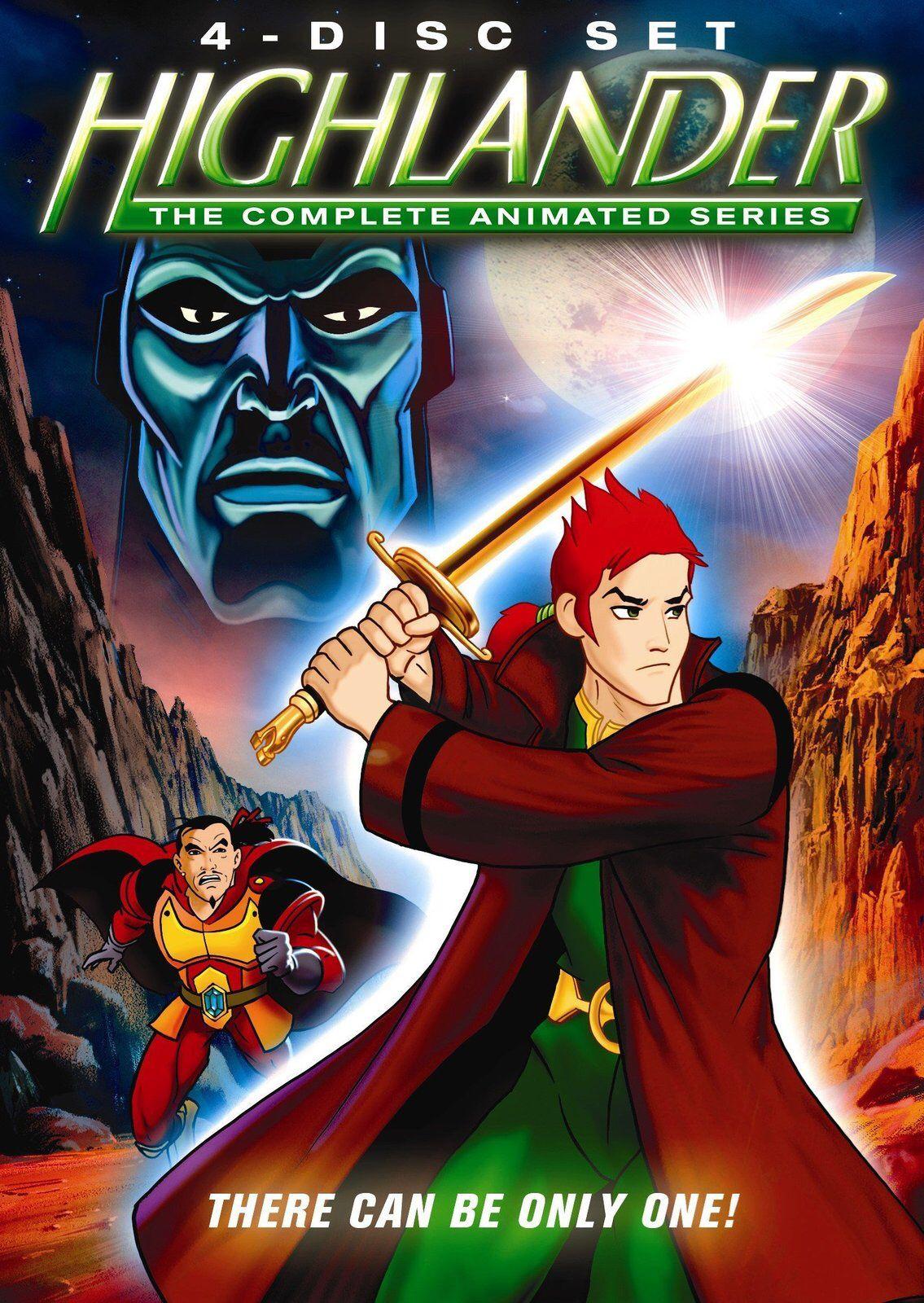 1990s animated series highlander. Animation series